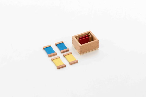 Premium Silk First Box of Colour Tablets (Wooden Holder)