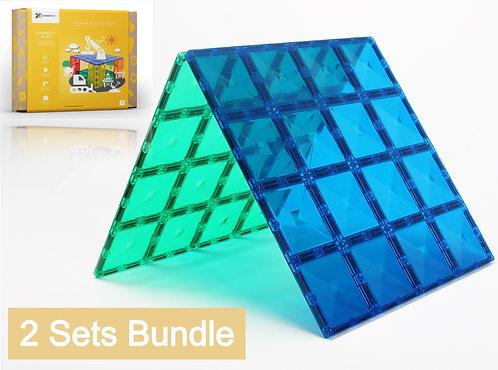 Connetix Tiles 4 Piece Base Plates Bundle