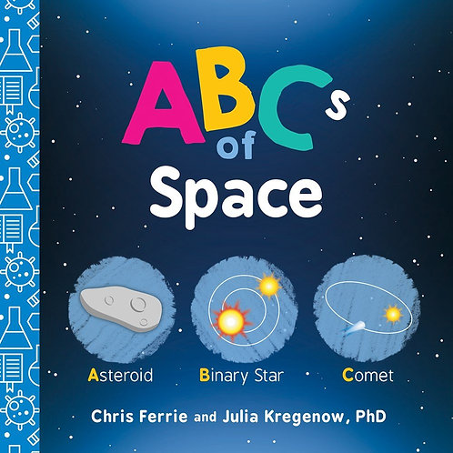 ABCs of Space (Baby University) (Board Book)
