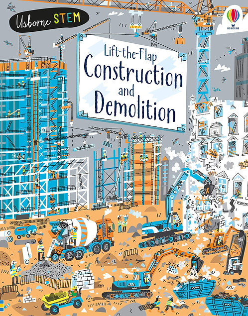 Lift-the-Flap Construction and Demolition (Board Book)
