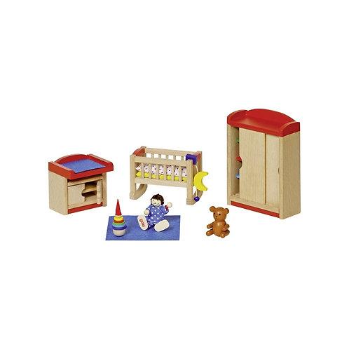 Goki Furniture for Flexible Puppets, Children's Room