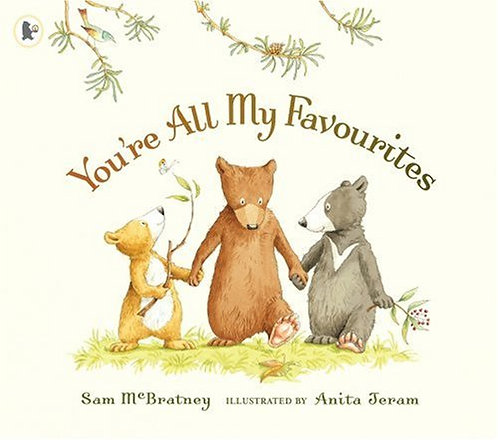 You're All My Favourites (Board Book)