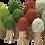 Thumbnail: Papoose Four Season Trees Set of 12