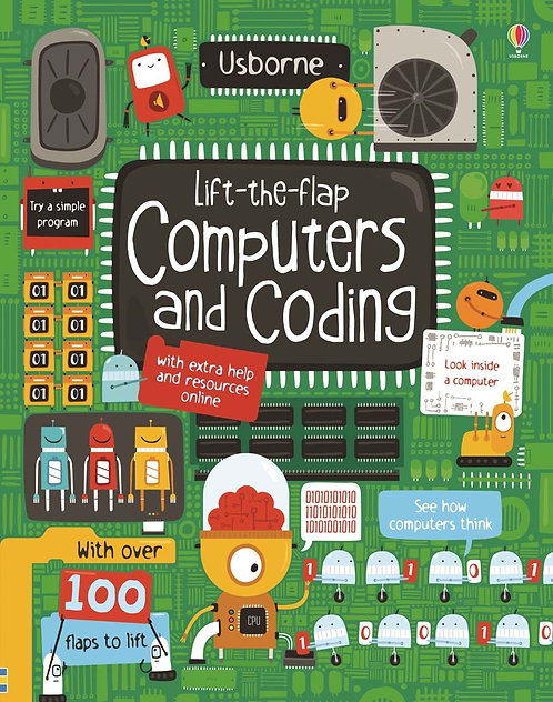 Lift-the-Flap Computers and Coding (Board Book)