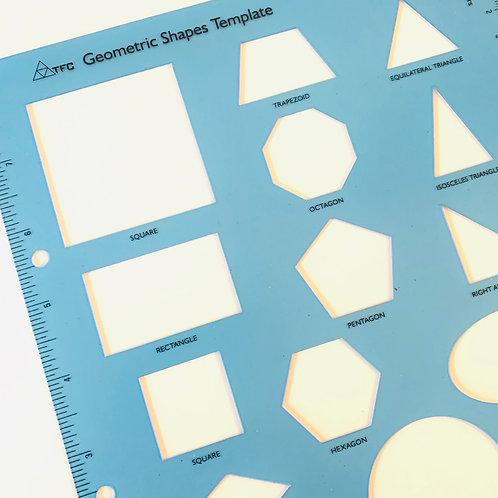 Large Template Geometric Shapes