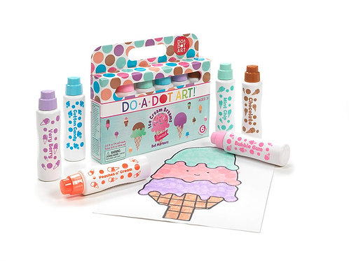 Do A Dot Art! Ice Cream Markers 6 Pack
