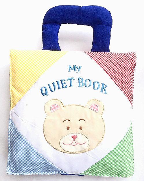 My Quiet Fabric Book Gingham