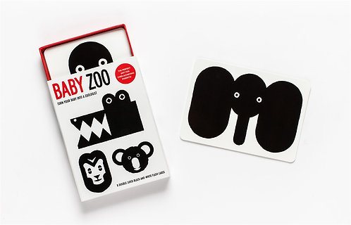 Baby Zoo: Turn Your Baby into a Zoologist (Flashcards)