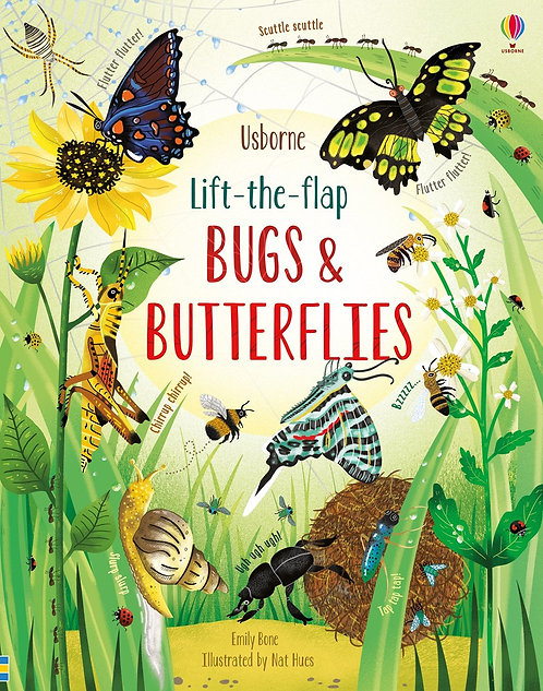 Lift-the-Flap Bugs and Butterflies (Board Book)