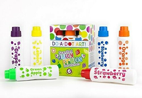 Do A Dot Art! Juicy Fruits Markers 6 Pack
