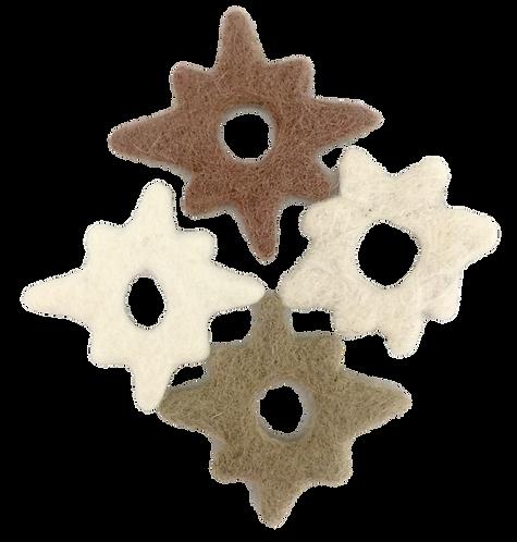Winter Snowflakes 24 Piece