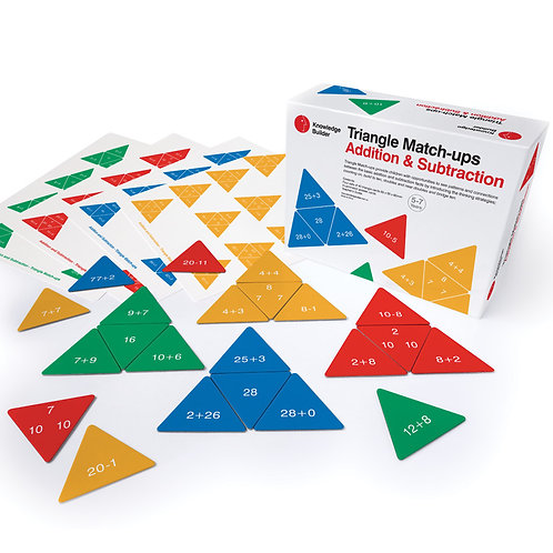 Triangle Match-ups - Addition & Subtraction