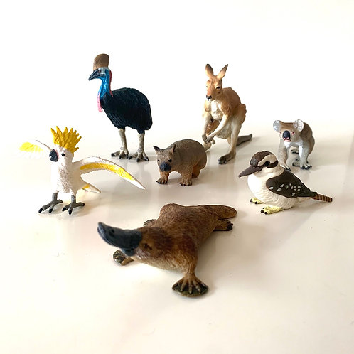 Australian Animals Safari Ltd 7 Piece Playset