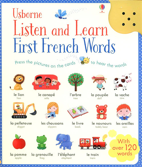 Listen and Learn First French Words (Audio Book)
