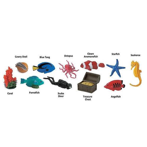 Coral Reef Montessori Language Learning Figurines