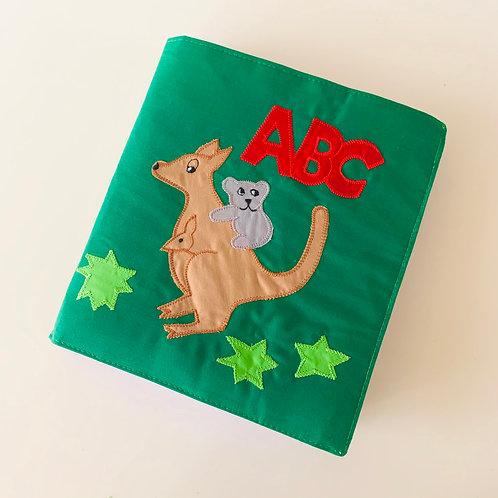 Australian Animal ABC Fabric Book