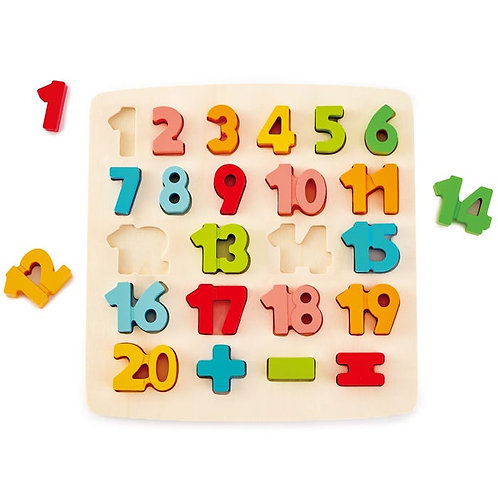 Chunky Number Puzzle 23 Pieces