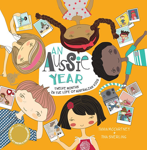 An Aussie Year: Twelve Months in the Life of Australian Kids (Paperback)