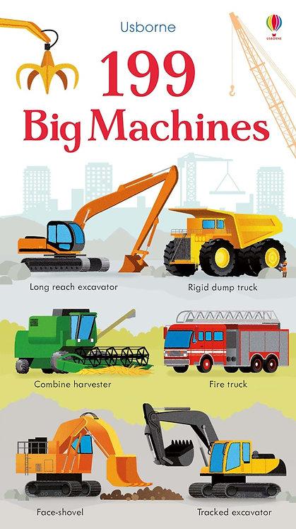 199 Big Machines (Board Book)