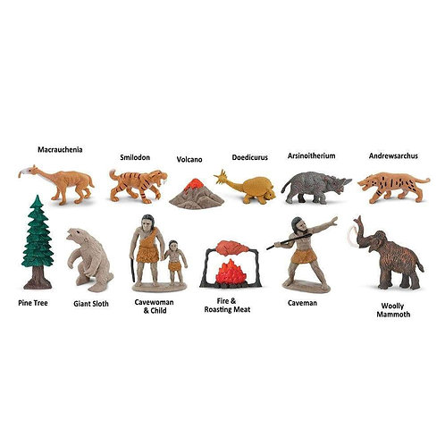 Prehistoric Life Montessori Language Learning Figurines