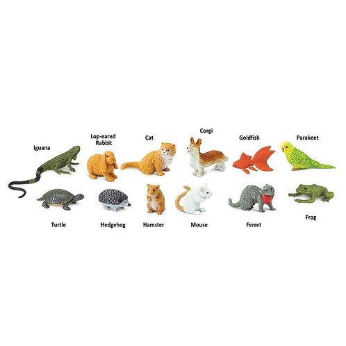 Pets Montessori Language Learning Figurines