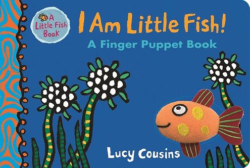I am Little Fish! A Finger Puppet Book (Board Book)