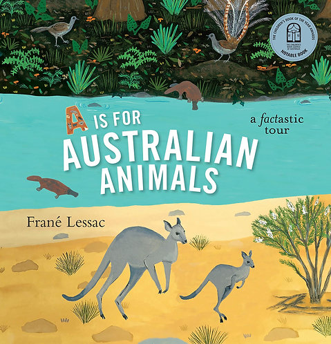 A Is For Australian Animals (Paperback)