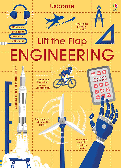 Lift-the-Flap Engineering (Board Book)