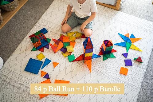 Learn & Grow Toys Ball Run 194p Bundle