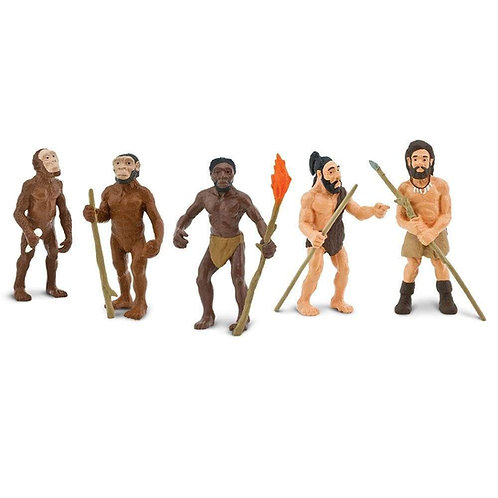 Evolution of Man Figurine