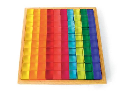 Acrylic Cubes 100 Piece