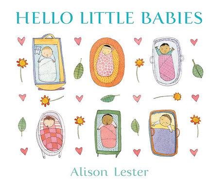 Hello Little Babies (Board Book)