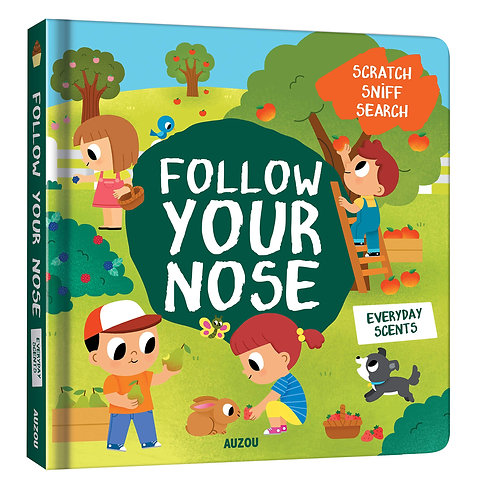 Follow Your Nose, Everyday Scents (Board Book)