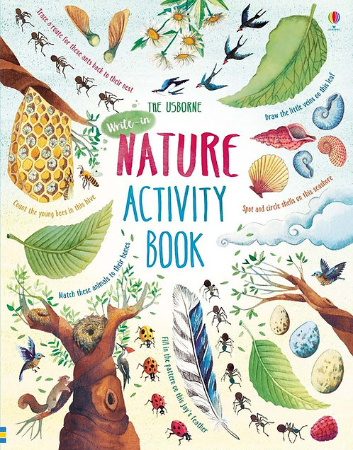 Nature Activity Book (Hardcover)