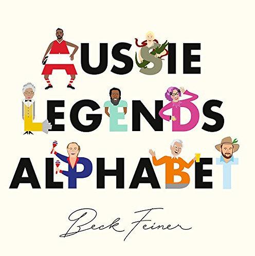 Aussie Legends Alphabet (Hardcover)