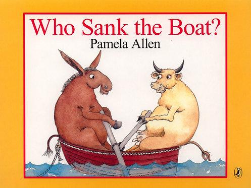 Who Sank the Boat? (Board Book)