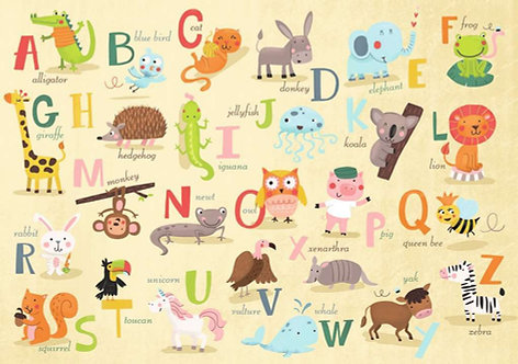 A-Z Animals Puzzle 35 Piece
