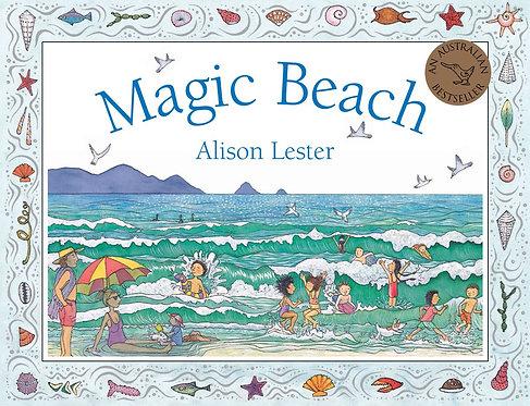 Magic Beach (Board Book)