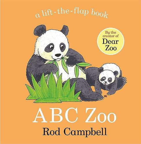 ABC Zoo: A Lift-the-Flap Book (Board Book)