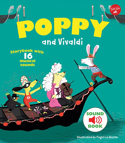 Poppy and Vivaldi: With 16 musical sounds! (Hardcover)