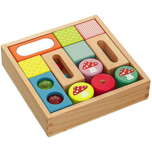 Wooden Discovery Sensory Blocks