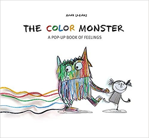 The Color Monster: A Pop Up Book of Feelings (Hard Cover)