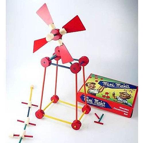 Retro Mini Makit Wooden Construction Toy