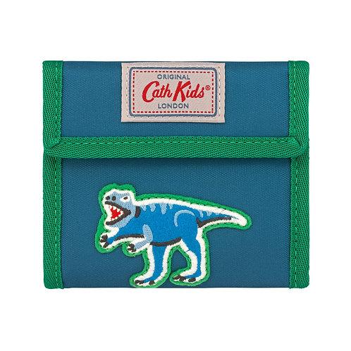 Dino Badges Kids Folding Wallets
