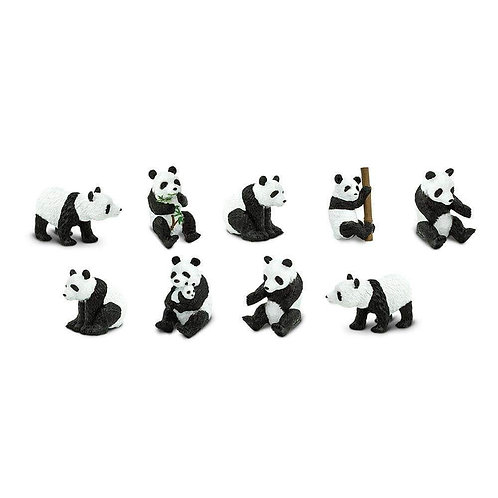 Pandas Montessori Language Learning Figurines