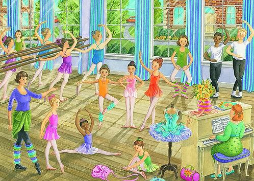 Ballet Lesson Puzzle 35 Piece