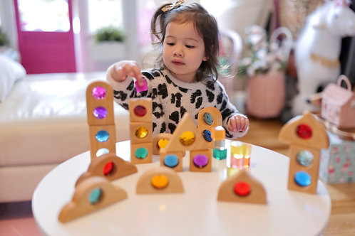 Bauspiel Discovery Window Shapes - 6 pieces