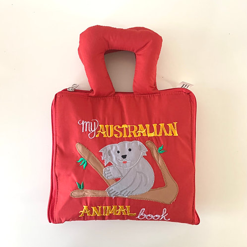 My Australian Animal Book (Red)