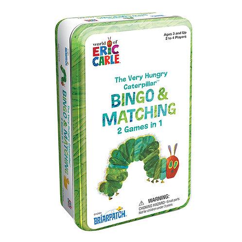 The Very Hungry Caterpillar Bingo & Matching Tin Game