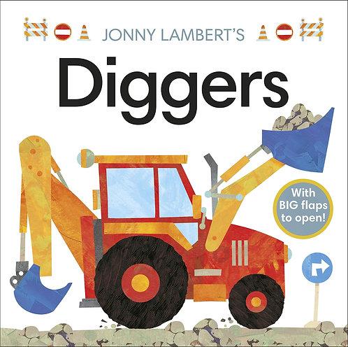 Jonny Lambert's Diggers (Board Book)